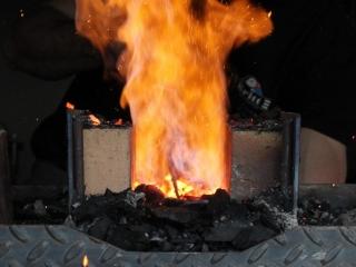 Forge à charbon