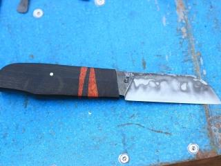 Couteau de Bosco, chêne millénaire et satiné rubané