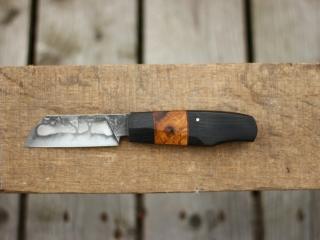 Couteau de Bosco, chêne millénaire et loupe de chêne